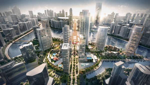(Русский) 1 комнатная квартира  Peninsula by Select Group ОАЭ, Дубай.