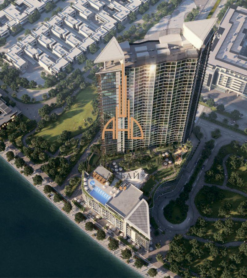 1 комнатная квартира с видом на набережную Waves Grande |Sobha| Дубай, ОАЭ.
